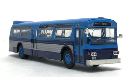 Iconic Replicas 1:87 Flxible 53102 Transit Bus: MTA New York City