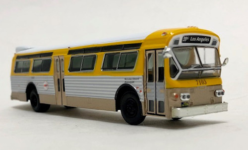 Iconic Replicas 1:87 Flxible 53102 Transit Bus: RTD Los Angeles