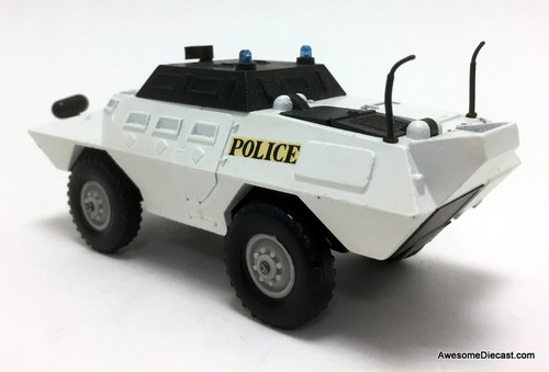 RARE!! Solido 1:50 US Commando Armored Police Riot Tank