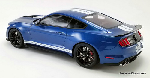 GT Spirit 1:12 2020 Ford Mustang Shelby GT500, Metallic Blue