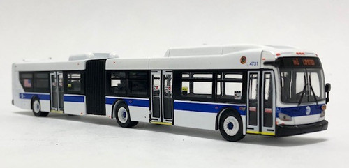 Iconic Replicas 1:87 NFI xcelsior XD60 Articulated Transit Bus: MTA New York City