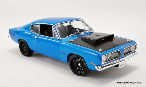 Acme 1:18 1969 Plymouth Barracuda Street Fighter