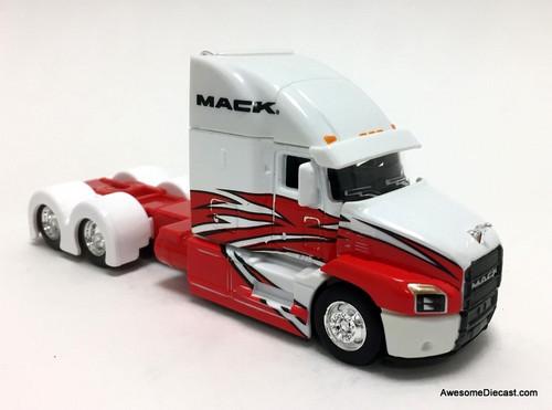 Maisto 1:64 2019 Mack Anthem Tractor, Red/White
