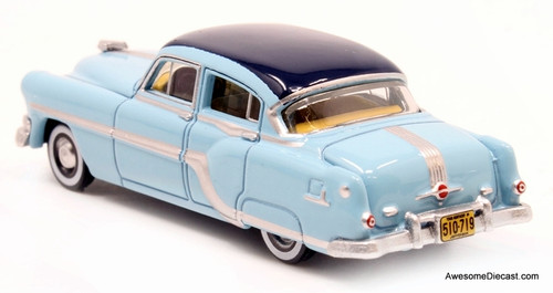 Oxford 1:87 1954 Pontiac Chieftain, Mayfair blue/San Marino Blue