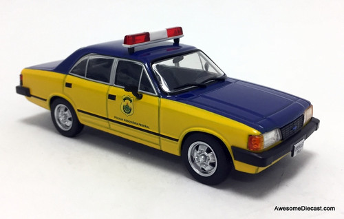DeAgostini 1:43 Chevrolet Opala: Brazil Federal Highway Police