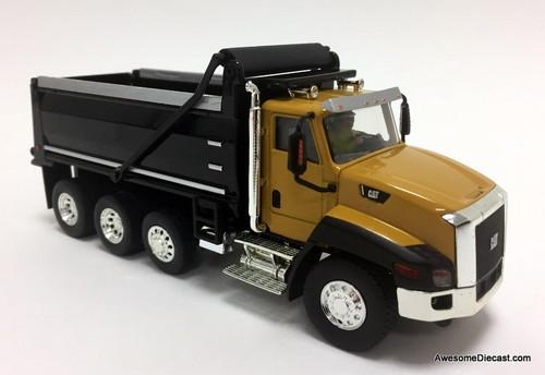 Diecast Masters 1:50 Caterpillar CT660 Dump Truck, Yellow
