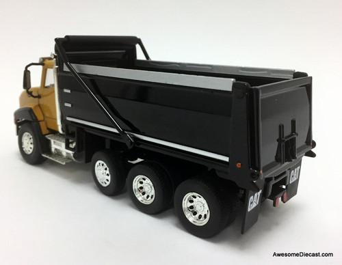 Diecast Masters 1:50 Caterpillar CT660 Dump Truck, Yellow