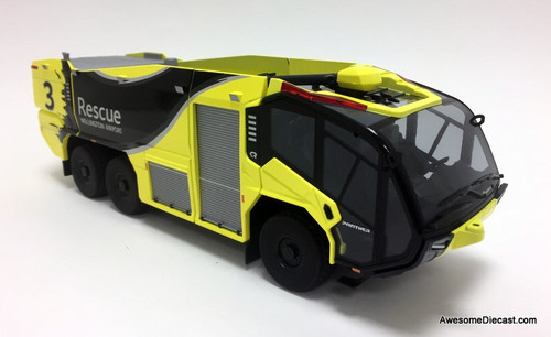 Wiking 1:43 Rosenbauer Panther 6x6 ARFF Airport Crash Truck: Wellington Int'l Airport
