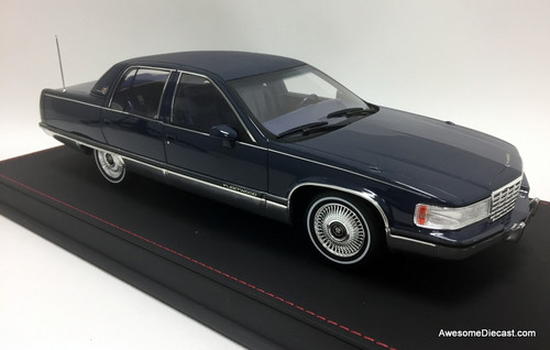 Only One! VAL 1:18 1993 Cadillac Fleetwood Brougham, Blue