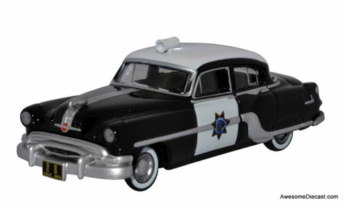 Oxford 1:87 1954 Pontiac Chieftain: California Highway Patrol