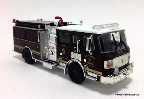 Code 3 Reproductions 1:64 2006 ALF Eagle Pumper USA: San Francisco Fire Department
