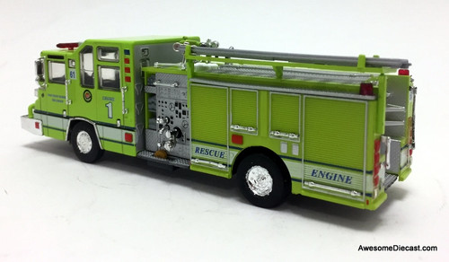 Code 3 Reproductions 1:64 1997 Pierce Quantum Pumper USA: Palm Beach Gardens (Florida) Fire Department