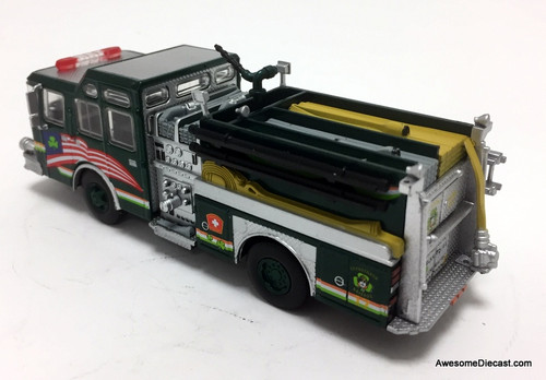 Code 3 Reproductions 1:64 1999 E-One Cyclone 11 Pumper: Boston Fire Department