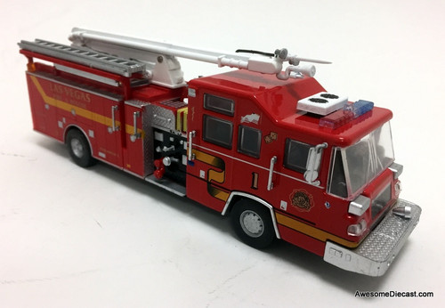 Code 3 Reproductions 1:64 2001 Pierce Quantum Snozzle: Las Vegas Fire Department