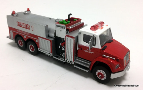 Code 3 Reproductions 1:64 1999 Freightliner Elliptical Fire Tanker