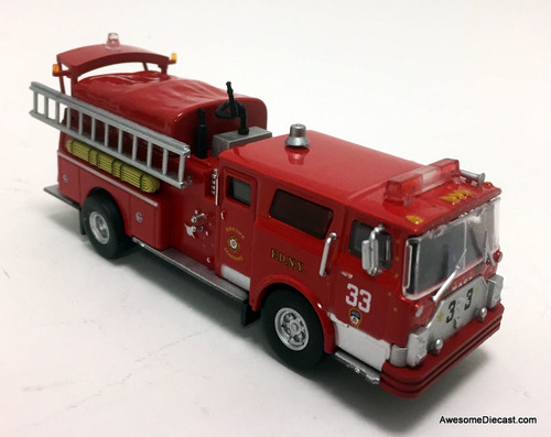 Code 3 Reproductions 1:64 1979 Mack CF Pumper: New York Fire Department