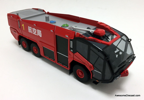 Wiking 1:43 Rosenbauer Panther 6x6 ARFF Airport Crash Tender: Haneda Int'l Airport: Tokyo