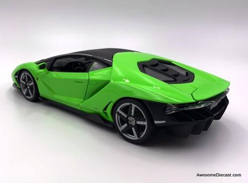 Maisto 1:18 2016 Lamborghini Centenario, Green