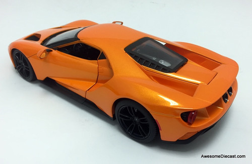 Maisto 1:18 2017 Ford GT, Metallic Orange