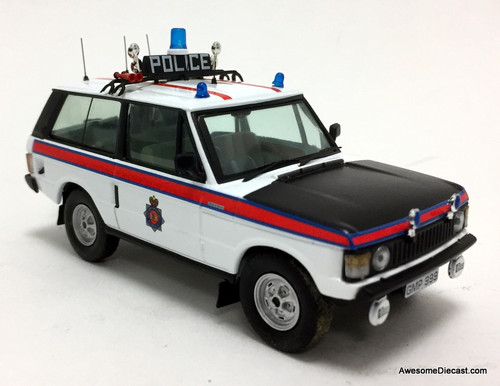 HCModels 1:43 1980 Range Rover: Manchester Police Force, England