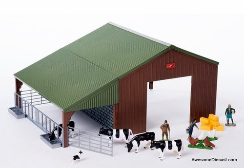 Britains 1:32 Farm Building & Accessories Set