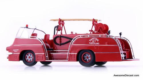 AutoCult 1:43 1959 Pegaso 140 DCI Open-Cab Mofletes Fire Truck: Spain