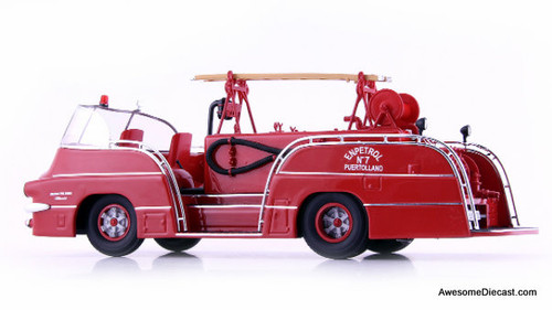 AutoCult 1:43 1959 Pegaso 140 DCI Mofletes, Spanish Fire Truck