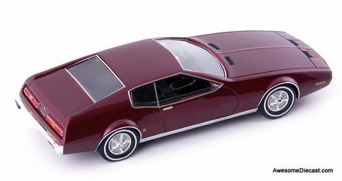 AutoCult 1:43 1969 Pontiac Farago CF 428, Burgundy