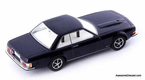 AutoCult 1:43 1965 Volvo P172 Coupe Prototype, Metallic Blue