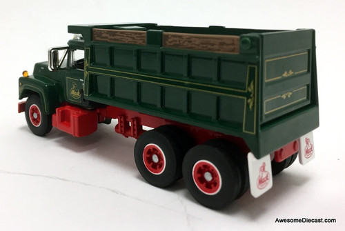 DCP by FG 1:64 Mack R Dump Truck, Red/Green