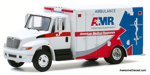 Greenlight 1:64 IH DuraStar Ambulance: American Medical Response