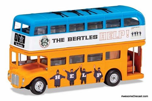 Corgi 1:76 AEC Routemaster London Bus: Beatles Movie HELP Livery
