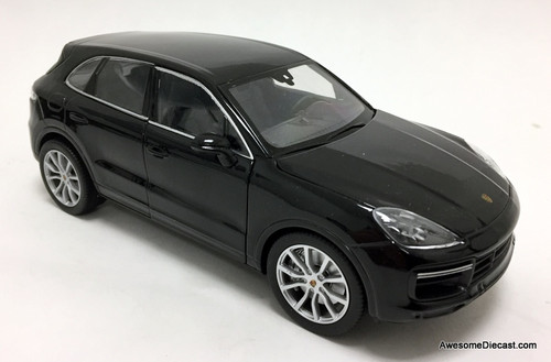 Welly 1:24 2019 Porsche Cayenne Turbo Coupe, Black
