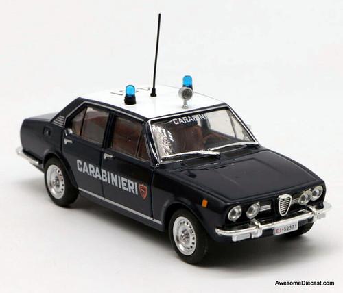DeAgostini 1:43 1972 Alfa Romeo Alfetta: Rome, Italy Police Car