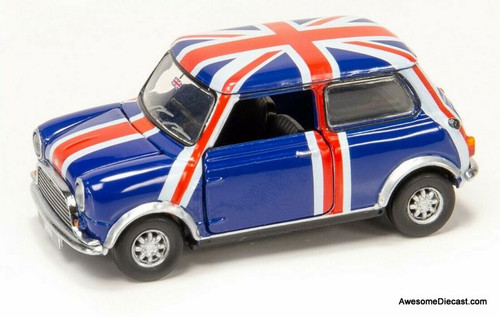 Tiny Mini Cooper MK1: Union Jack Livery