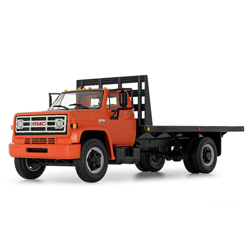 First Gear 1:34 1970 GMC 6500 Flatbed Truck: Orange