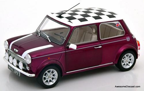 Solido 1:18 Mini Cooper 1.3 Sport Pack, Metallic Purple