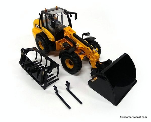 Britains 1:32 JCB 542-70 Panoramic Telescopic Ruspa Gommata Tractor