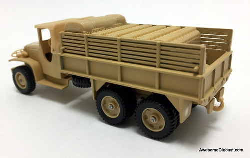 Solido 1:50 GMC Military 6x6 Open Supply Truck: United States Army