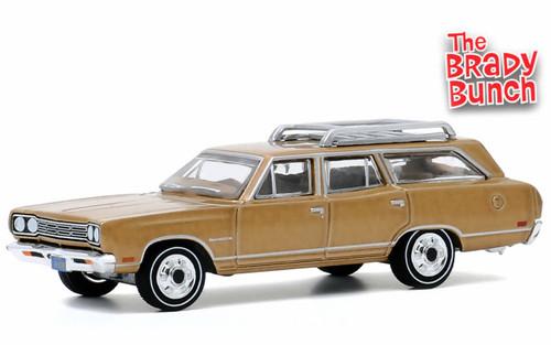 Greenlight 1:64 1969 Plymouth Satellite Station Wagon: The Brady Bunch