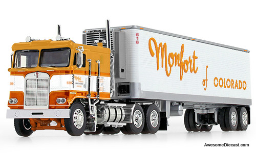 DCP 1:64 Kenworth K100 w/ 40' Refrigerated Trailer: Monfort of Colorado