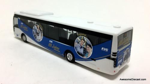 Holland Oto 1:87 VDL Citea LLE KVG Bus Lines: Destination Raunschweig Rathaus, Germany