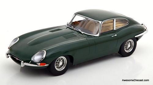 KK-Scale 1:18 1961 Jaguar E-Type RHD, British Racing Green