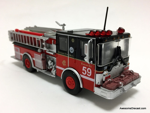 Code 3 Reproductions 1:64 1998 Luverne Pumper: Chicago Fire Department