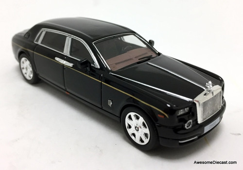 Time Collectibles 1:64 Rolls Royce Phantom V11, Black