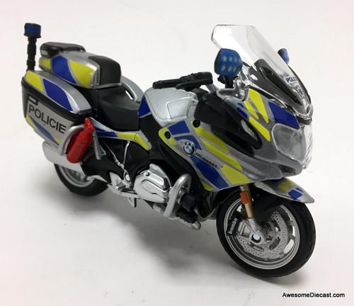 Maisto 1:18 BMW R1200 RT Police Motorcycle:  Prague, Czech Republic