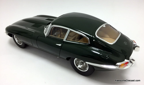 Norev 1:12 1961 E-Type Jaguar 4.2 Coupe, British Racing Green