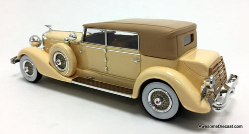 Kess 1:43 1929 Duesenberg Model J Convertible Berline By Murphy, Cream