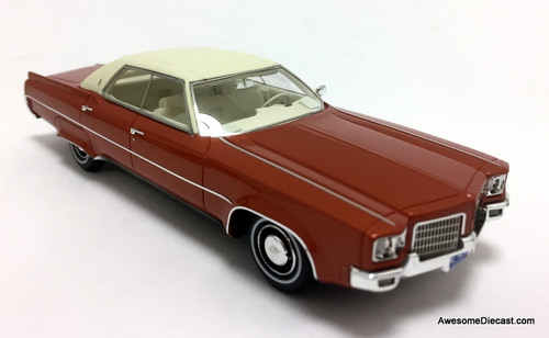 Kess 1:43 1971 Oldsmobile 98 Sedan, Metallic Bronze