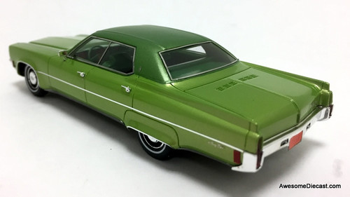 Kess 1:43 1971 Oldsmobile 98 Sedan, Metallic Green